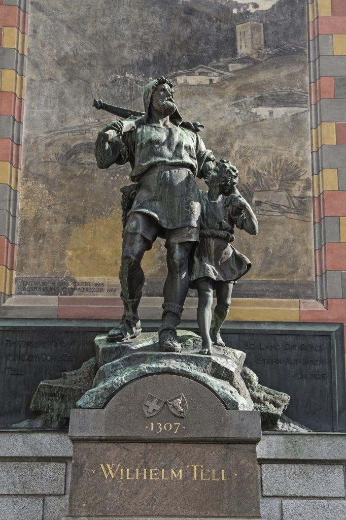William Tell monument in Switzerland