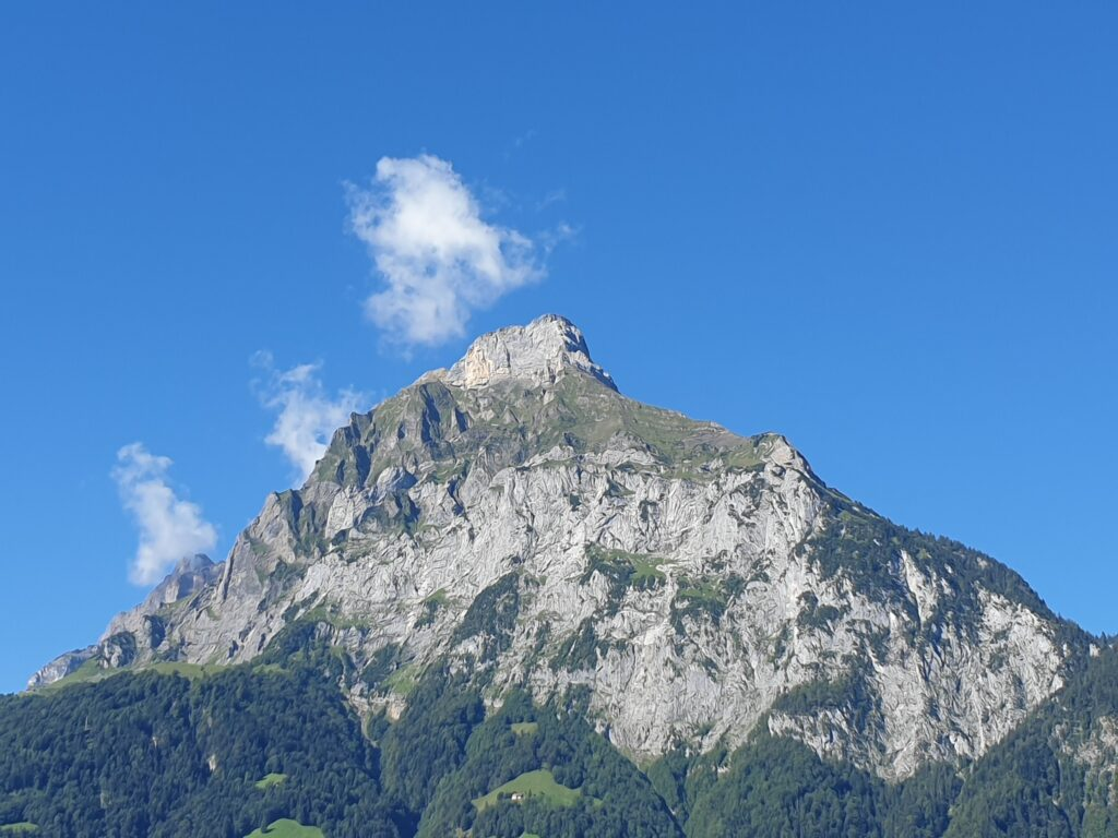 Picture of the Gitschen, a mountain in the Swiss Alps close to Altdorf.