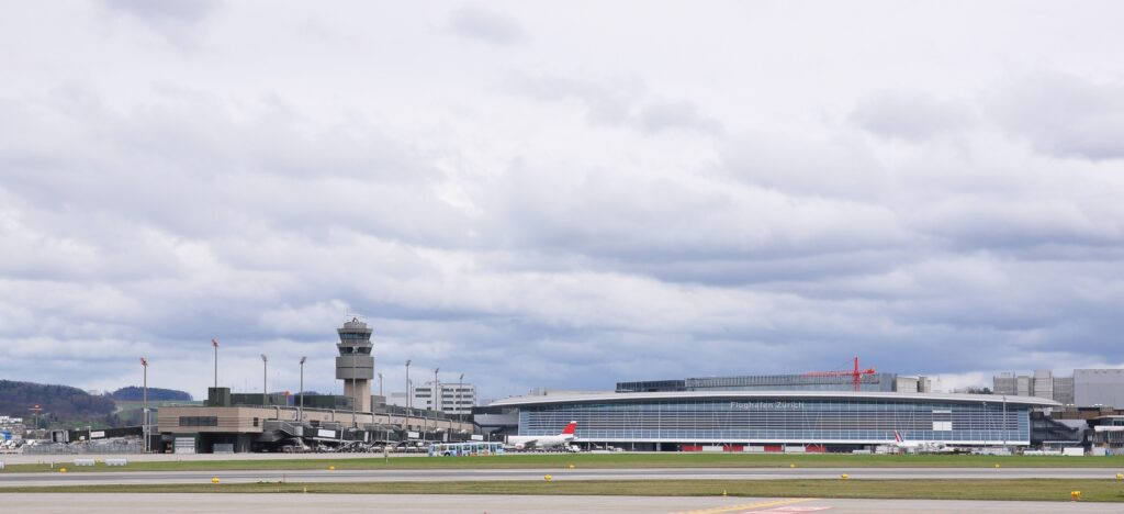 Picture of the Zurich Airport